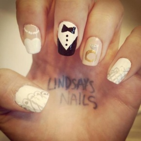 Wedding Wednesday: Nail Trends!