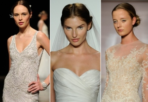 Makeup trends - try white eyeliner for a wedding trend for 2014.