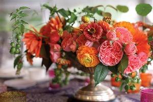 Wedding flower trends 2014.
