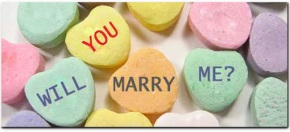 Wedding Wednesday: Getting engaged or married on Valentine'sDay