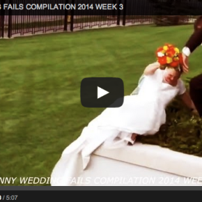 Wedding Wednesday: Funniest wedding videos