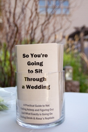 Wedding Wednesday: Take an unconventional approach to yourwedding