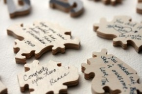 Wedding Wednesday: Creative ideas for your guestbook