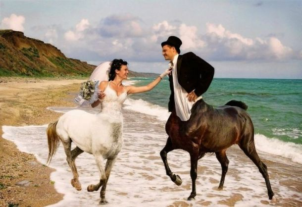 Worst Wedding Photos on Pinterest.