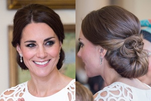Kate Middleton bridal hairstyle.