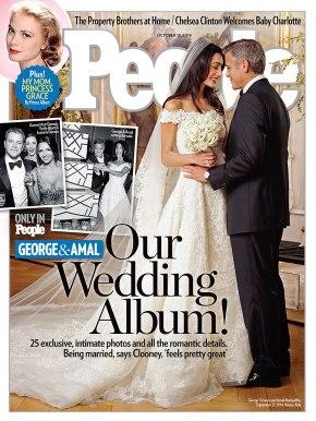 Wedding Wednesday: George Clooney wedding a privateaffair