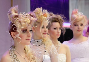 Outrageous wedding hairstyles
