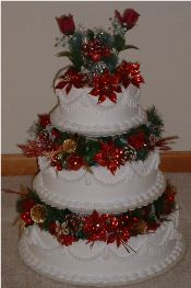 Christmas-wedding-cakes-2