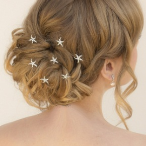 Wedding Wednesday: Choosing hair accessories