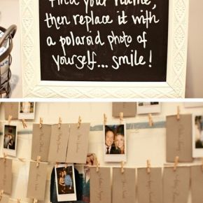 Wedding Wednesday: Unique guest book ideas