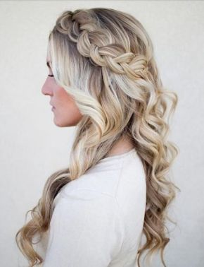 Wedding Wednesday: Glamorous #wedding braids