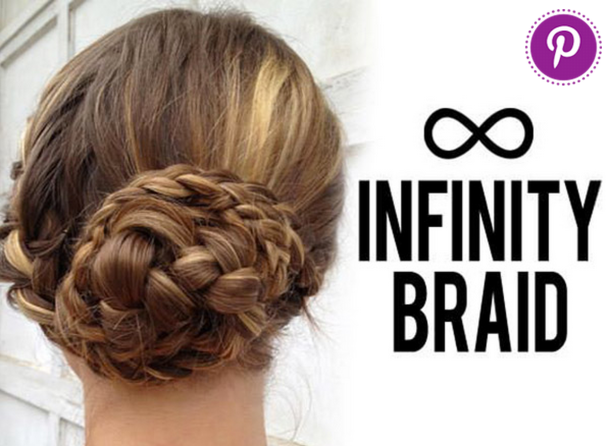infinity braid updo
