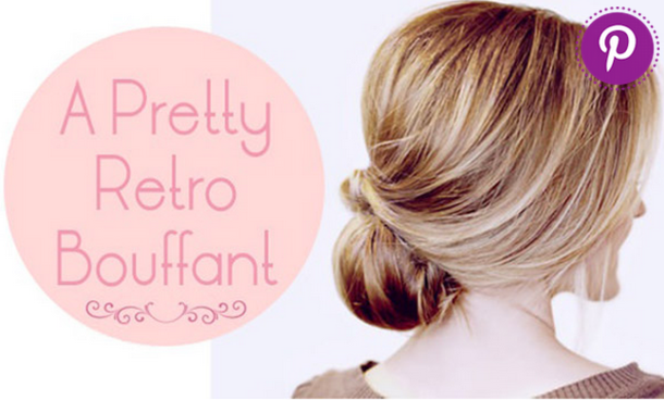 Pretty Retro Bouffant