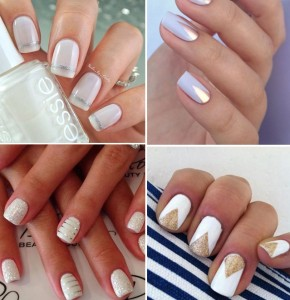 Wedding Wednesday: Chic #wedding nails