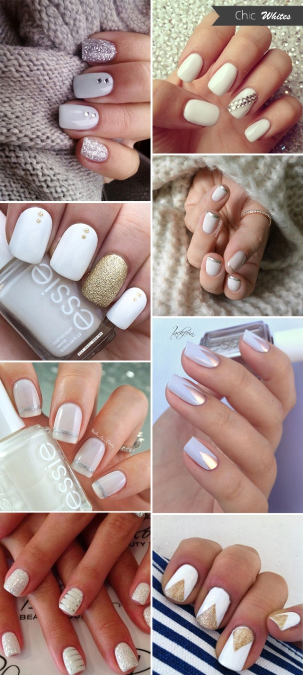 chic-white-wedding-nails