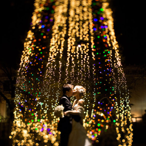 Wedding Wednesday: Christmas weddings