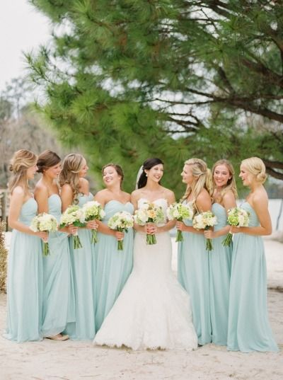 Wedding wednesday spring bridesmaid dresses wedding for Spring wedding bridesmaid dress colors
