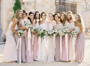 #Wedding Wednesday: Spring Bridesmaid Dresses